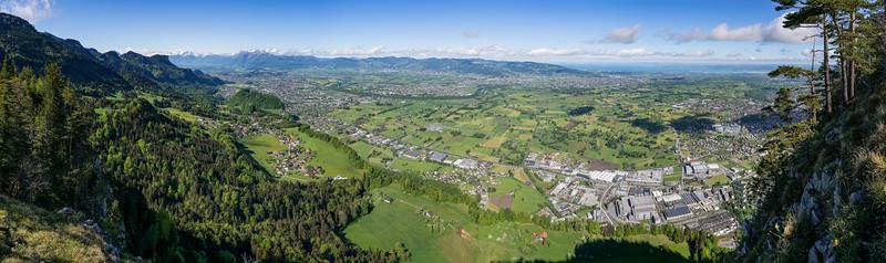 Panorama Rheintal 35mm