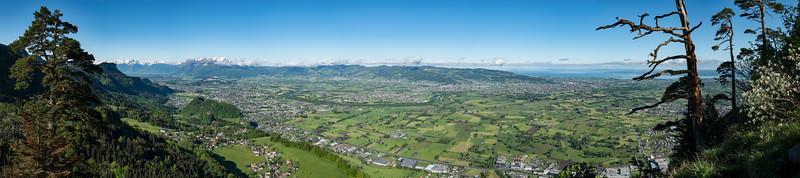Panorama Rheintal 50mm