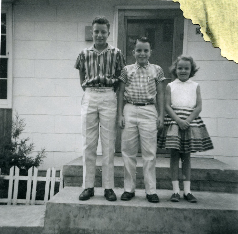 026 Paul R , Russel, Judy Cameron, Mo 1958