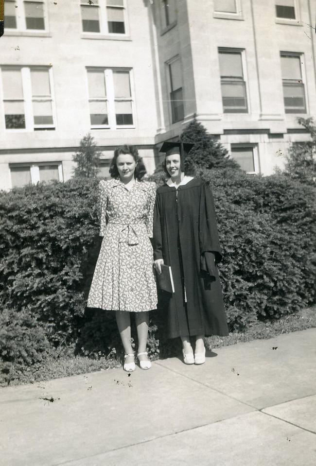 031 Eva & Ava at Southwest Mo State Teachers College