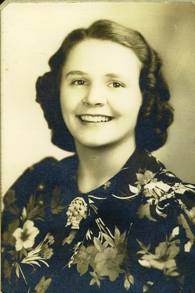 015a Eva, Senior in High School, Louisburg, Mo 1938