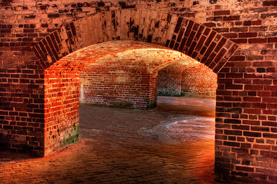 THE BOWELS OF FORT MACON