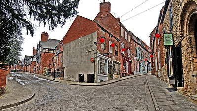 Wordsworth Street and Steep Hill