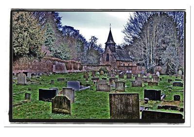 St. Helen's churchyard, Boultham, Lincoln