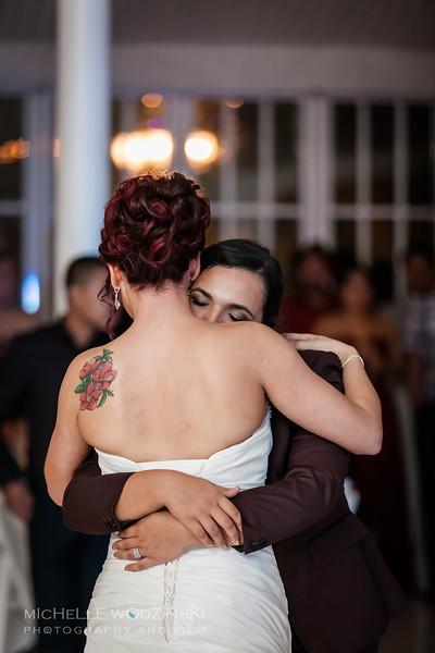 Vanessa & Natalie's Wedding - Lesbian Wedding - Chateau Busche - Chicago Wedding Photographer - Michelle Wodzinski Photography & Film - Fireheart-60-0119