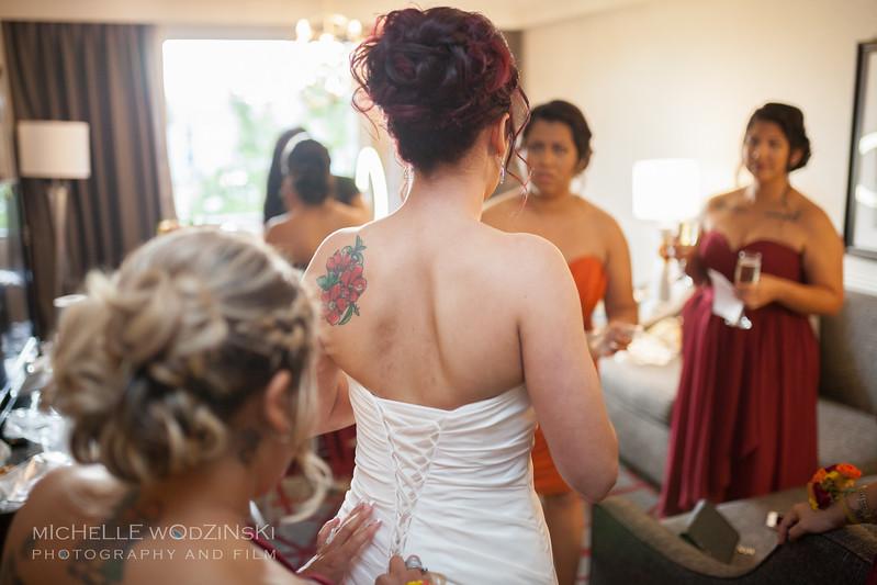 Vanessa & Natalie's Wedding - Lesbian Wedding - Chateau Busche - Chicago Wedding Photographer - Michelle Wodzinski Photography & Film - Fireheart-15-039