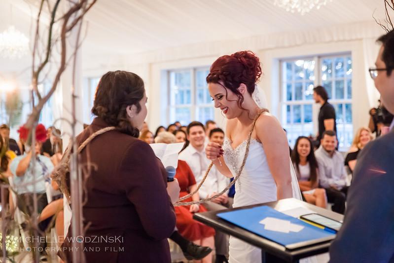 Vanessa & Natalie's Wedding - Lesbian Wedding - Chateau Busche - Chicago Wedding Photographer - Michelle Wodzinski Photography & Film - Fireheart-35-9672