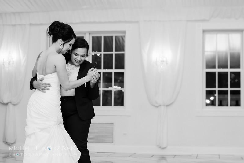 Vanessa & Natalie's Wedding - Lesbian Wedding - Chateau Busche - Chicago Wedding Photographer - Michelle Wodzinski Photography & Film - Fireheart-61-176