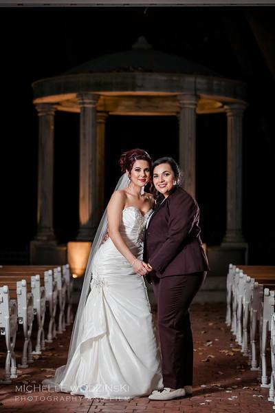 Vanessa & Natalie's Wedding - Lesbian Wedding - Chateau Busche - Chicago Wedding Photographer - Michelle Wodzinski Photography & Film - Fireheart-56-0004