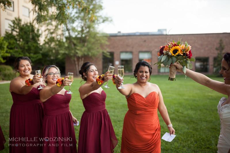 Vanessa & Natalie's Wedding - Lesbian Wedding - Chateau Busche - Chicago Wedding Photographer - Michelle Wodzinski Photography & Film - Fireheart-18-052