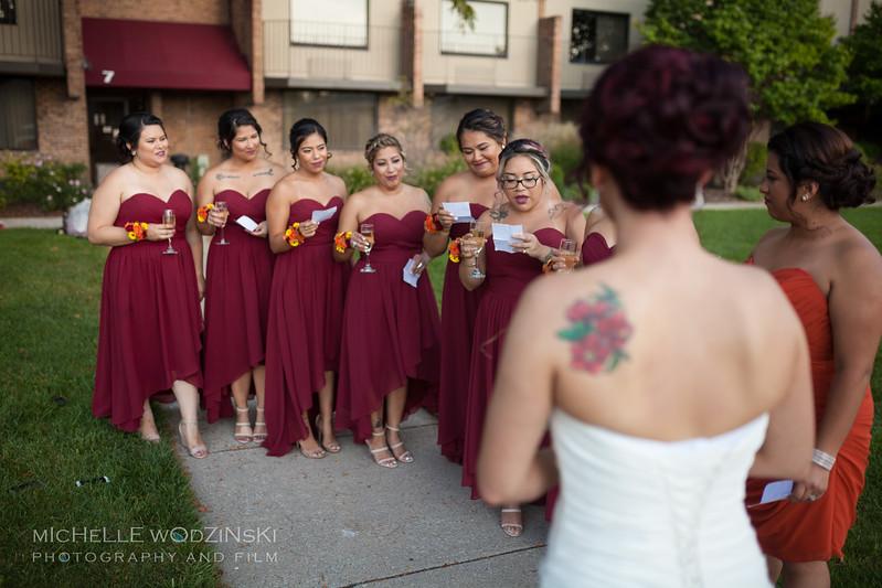 Vanessa & Natalie's Wedding - Lesbian Wedding - Chateau Busche - Chicago Wedding Photographer - Michelle Wodzinski Photography & Film - Fireheart-17-046