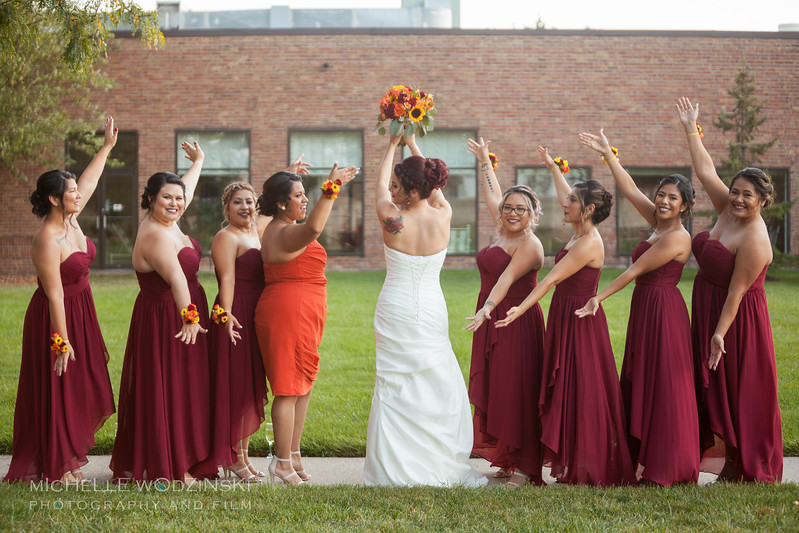 Vanessa & Natalie's Wedding - Lesbian Wedding - Chateau Busche - Chicago Wedding Photographer - Michelle Wodzinski Photography & Film - Fireheart-20-062