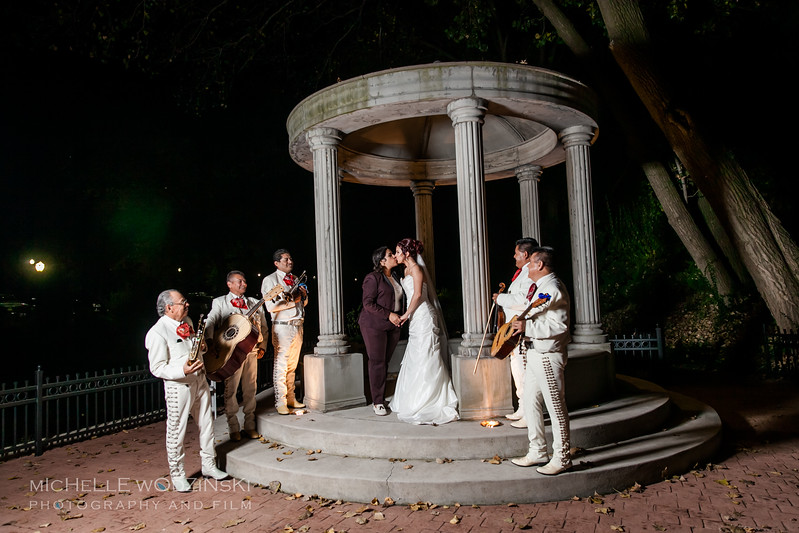 Vanessa & Natalie's Wedding - Lesbian Wedding - Chateau Busche - Chicago Wedding Photographer - Michelle Wodzinski Photography & Film - Fireheart-53-9991