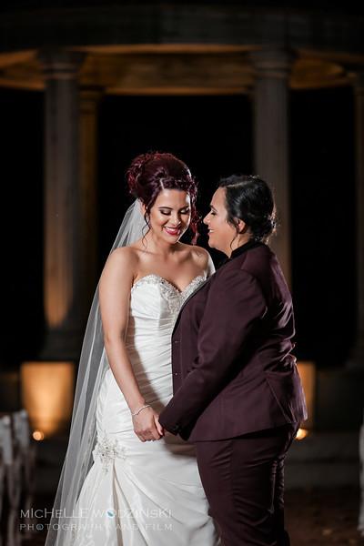 Vanessa & Natalie's Wedding - Lesbian Wedding - Chateau Busche - Chicago Wedding Photographer - Michelle Wodzinski Photography & Film - Fireheart-55-9999