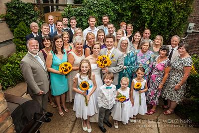 ALEXANDRA + GARETH The Cunliffe & Hughes Families