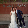 CARISSA + JASON<br /> Wicker Park Kiss