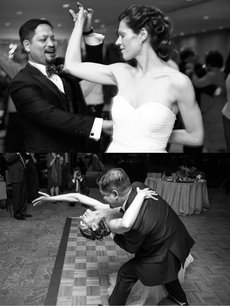 ALLISON + DERICK<br /> Dancing the Night Away<br /> <br /> (Bottom photo by Second Photographer Marcin Tomaszczyk for Michelle Wodzinski Photography & Film)