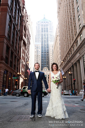 CARISSA + JASON The Chicago Board of Trade