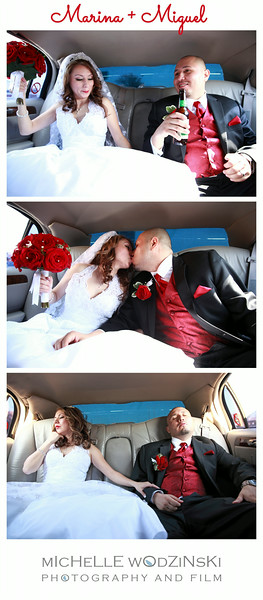 MARINA + MIGUEL Limo Film Strip
