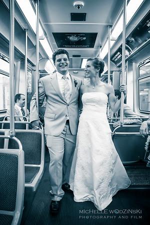 ALEXANDRA + GARETH Classy Commuters