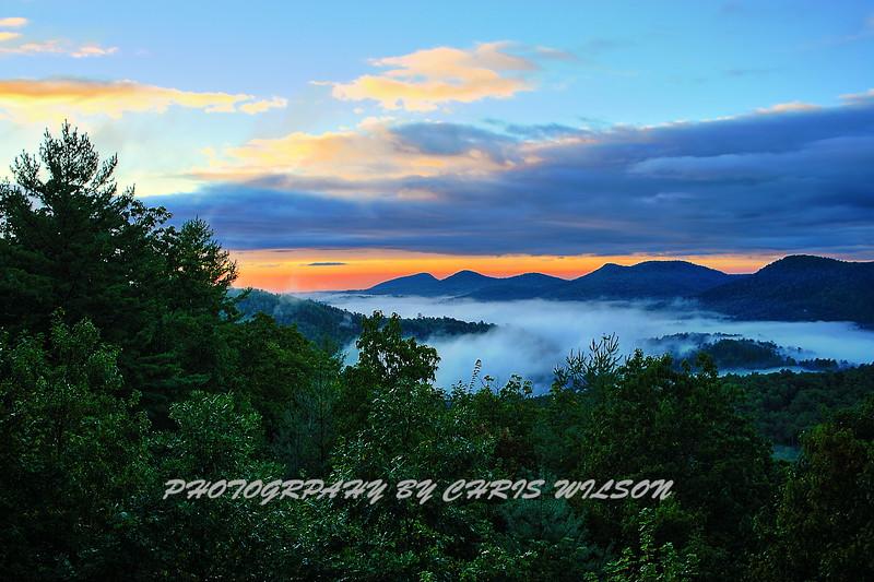 WNC Sunrise HDR 1