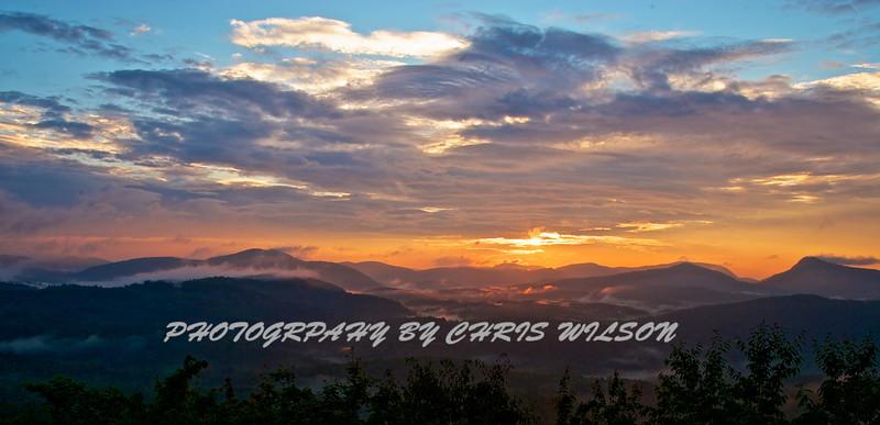 Whiteside Sunrise HDR 5