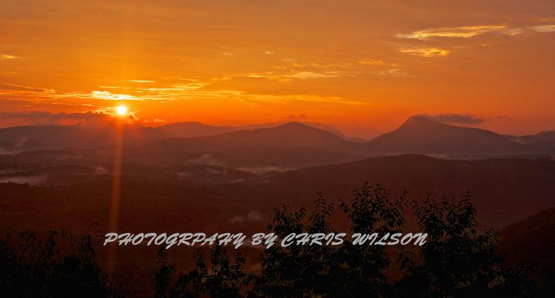 Whiteside Sunrise HDR 2