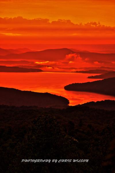 WNC Lake Jocasee 2 HDR