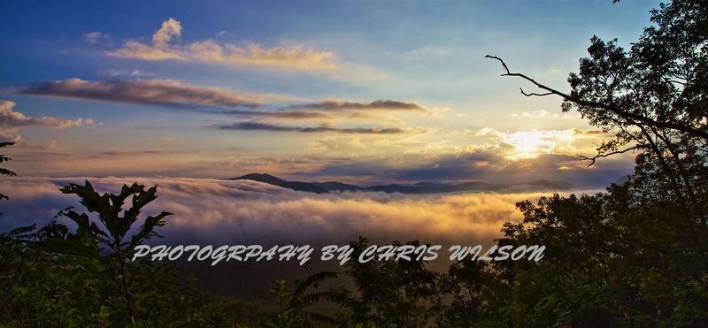WNC Sunrise HDR 023