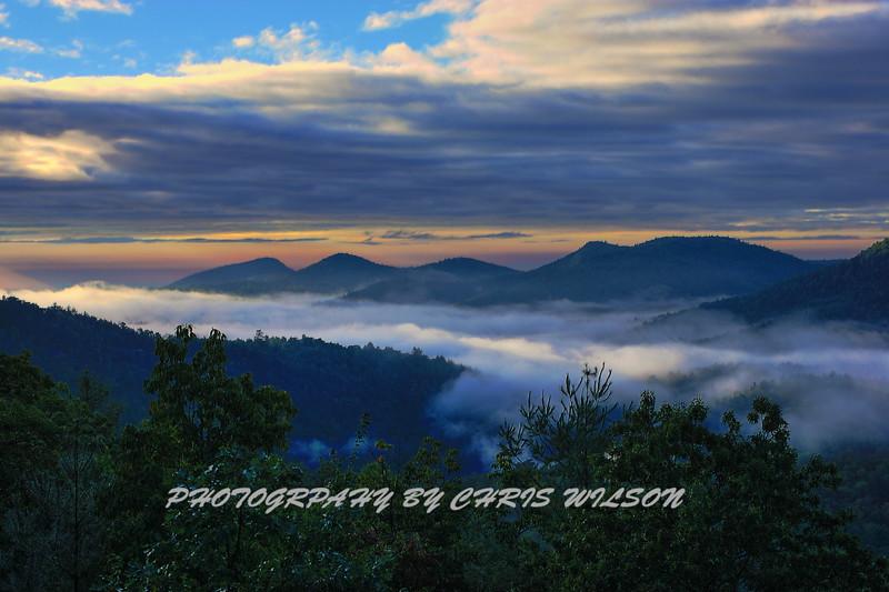 Sunrise WNC HDR 2