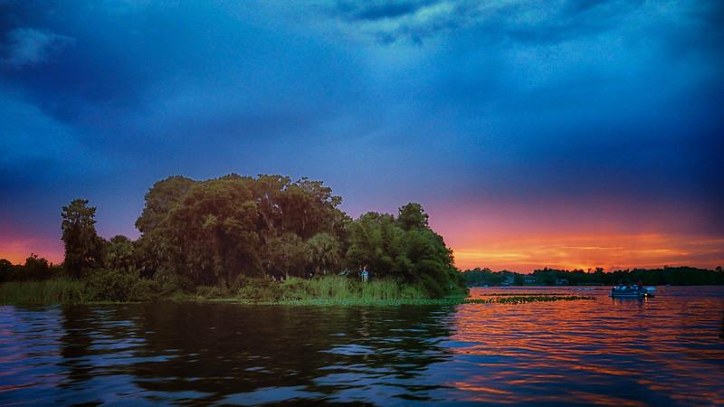 """WPP2008  """"Sunset on Dog Island"""""""