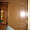 Close-up Floor to Ceiling Raised Panel Wainscoting