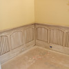 """36"""" high Arched top panel Wainscoting with beaded inset panels"""