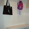 Beaded Wainscoting with bench and coat hooks