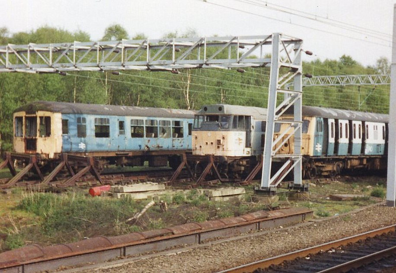 31296, Crewe Carriage Sheds. Summer 1999.