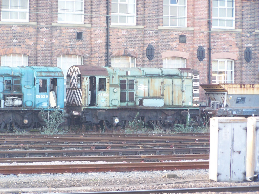 08493, Doncaster West Yard. February 2008.