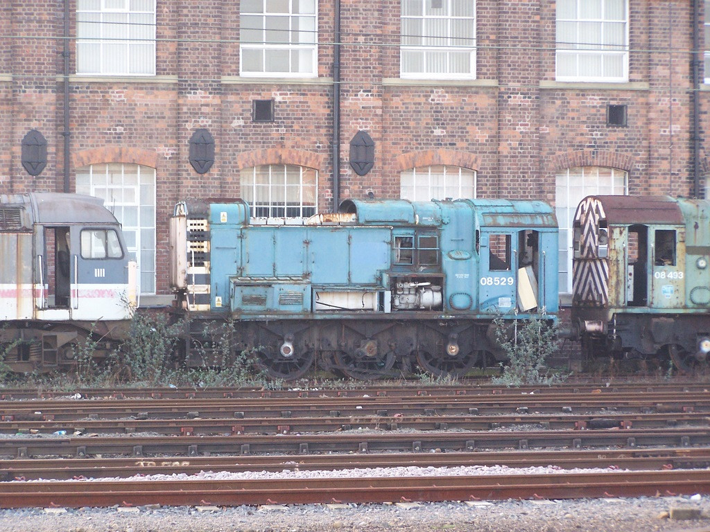 08529, Doncaster West Yard. February 2008.