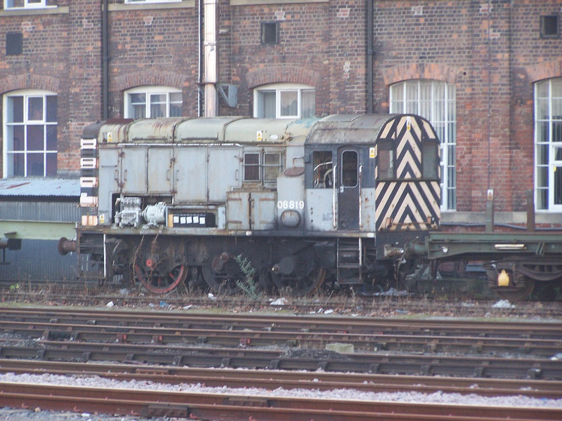 08819, Doncaster West Yard. February 2008.