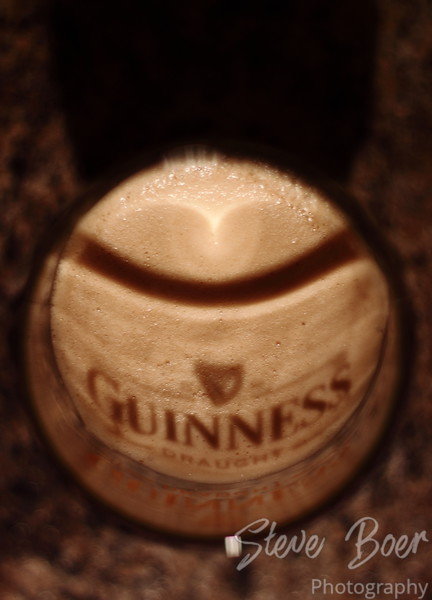 Smile, it's a Guinness!