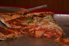 """Pizza Leftovers""<br /> Leftover Colombo's Pizza from a church business meeting. Mmmm... Colombo's."