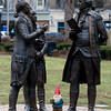 Washington, Hamilton, Marquis de Lafayette and the Gnome