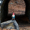 Gnome at the George Washington Bridge 01/12/2014