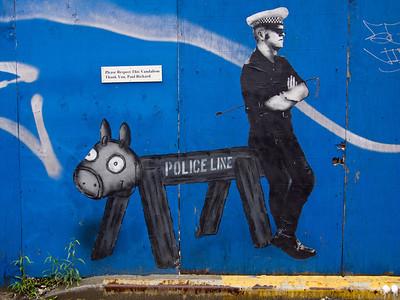 Please Respect This Vandalism Thank You, Paul Richard