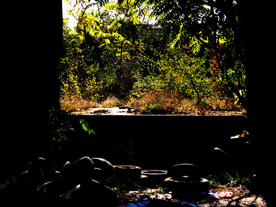 warehouse ruins. lex, ky.