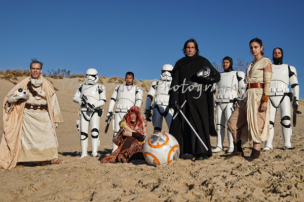 Warren Dunes Star Wars Shoot 2015