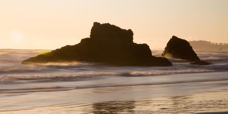 Ruby Beach Silhouette