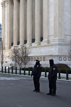 Security - United States Supreme Court Building