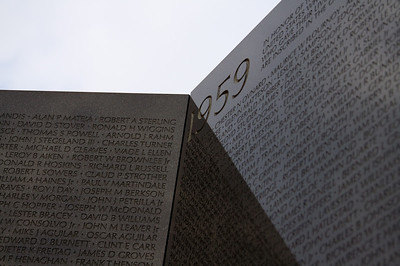 """1959"" - Vietnam Veterans Memorial Wall"