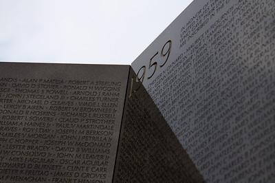 """""""1959"""" - Vietnam Veterans Memorial Wall"""