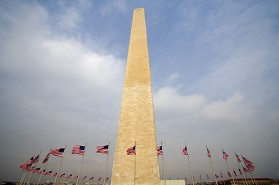 Flag circle - Washington Monument